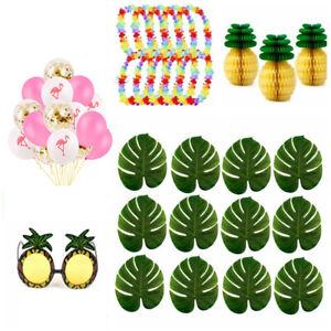 Hawaiian-Tropical-Jungle-laisser-Flamingo-Ballon-ete-plage-decoration-Luau-Party