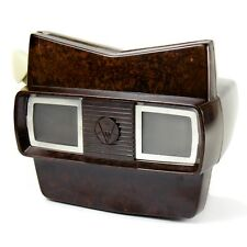 Cool Vintage 1950s Bakelite Viewmaster Model E 3D Viewer with Box & Reel