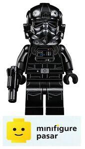 sw543 Lego Star Wars 75031 75056 - TIE Fighter Pilot Minifigure w Blaster - New