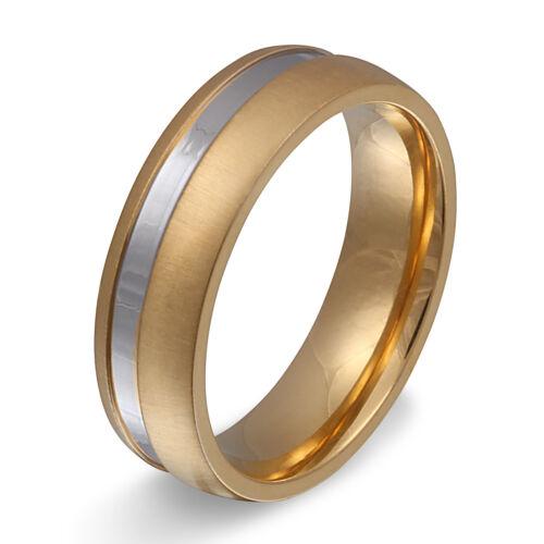 grabado gratis Señores amistad anillo Anillo de pareja de acero inoxidable incl 166h