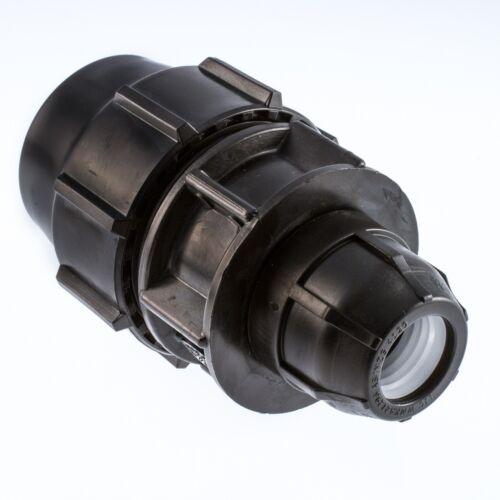 Tubo de Compresión MDPE Plástico insertos para PE100 MDPE Water Pipe WRAS aprobado