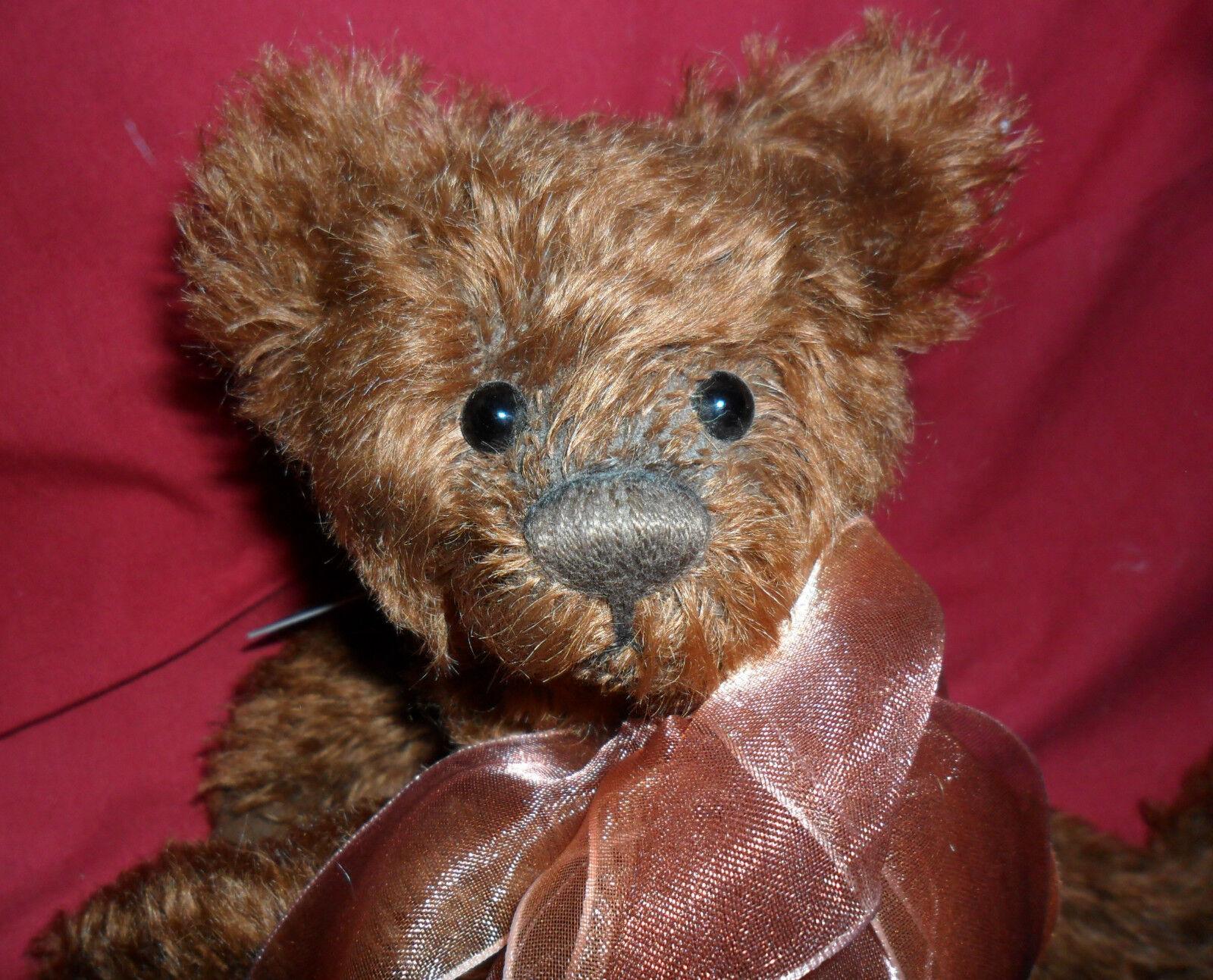 Charlie Bears brandysnap LTD ED Mohair
