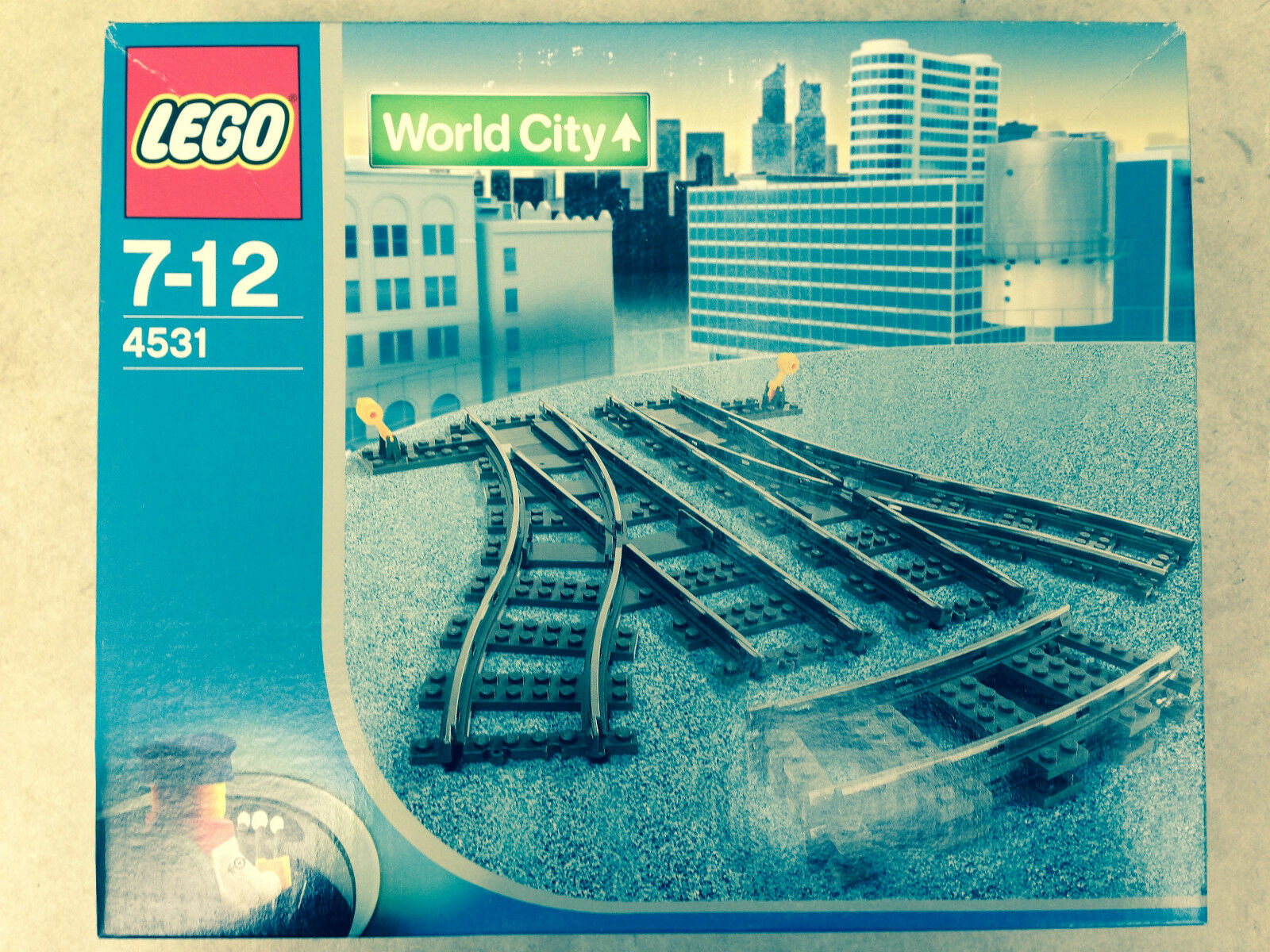 Lego 4531  Dur à trouver  Nouveau  dans une usine boîte scellée  mieux acheter