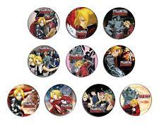 FULLMETAL ALCHEMIST 鋼の錬金術師 anime pin pinback button BADGE SET 1a ( 10 badges )