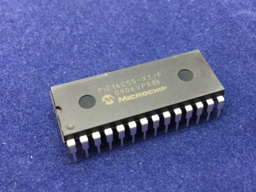 OTP 28-PDIP PIC16C55-XT//P PIC® 16C Microcontroller IC 8-Bit 4MHz 768B 512 x 12