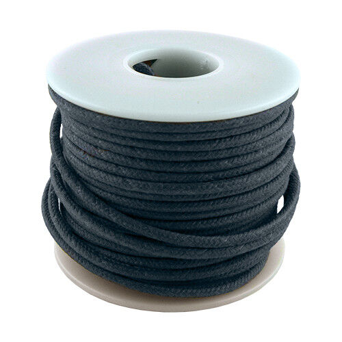 20 AWG vintage style solid cloth wire 50/' spool BLUE