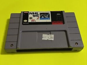 🔥💯 WORKING SUPER NINTENDO SNES GAME CARTRIDGE 🔥 CLASSIC EA SPORTS🔥 NHL 95