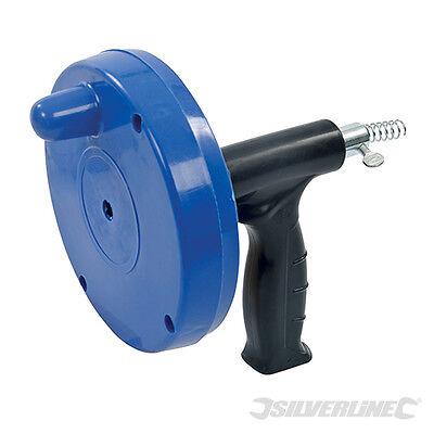 Pistolet de débouchage à tige flexible. 6 mm x 6 m. Silverline 395010
