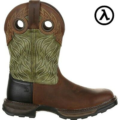 2ba3da7e5f8 DURANGO MAVERICK XP WATERPROOF PULL-ON WESTERN WORK BOOTS DDB0177 * ALL  SIZES | eBay