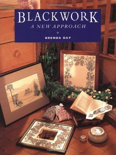 1 of 1 - Blackwork: A New Approach By Brenda Day