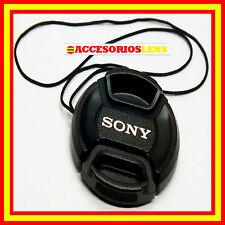 TAPA DELANTERA PARA OBJETIVO SONY 55 Front Lens Cap  SONY NEX  55 CON CORDON
