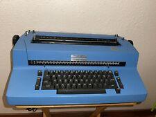 Ibm Selectric Ii Typewriter Withself Correction Key Blue