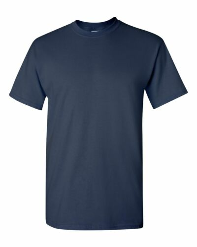 Gildans Mens Plain BLUE BLACK GREY RED WHITE Cotton Tee T Shirt T-Shirt S-5XL