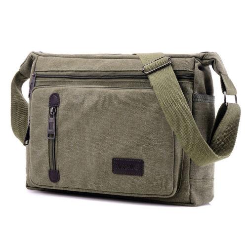 Mens Military Backpack Crossbody Chest Shoulder Bag Messenger School Travel Bags