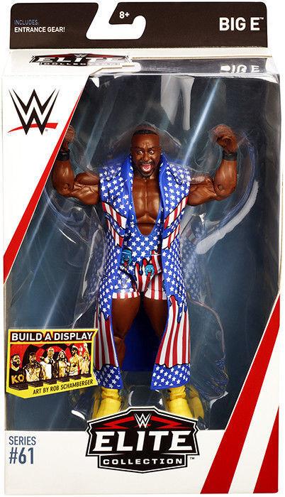 Wwe Big E E E The New Day Zubehör Elite Serie 61 Wrestling Mattel Actionfigur 662223