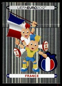 455 Panini euro 2012-Mascota Oficial-Francia no