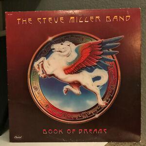 "STEVE MILLER BAND - Book Of Dreams (w/Merch Order) - 12"" Vinyl Record LP - VG+"
