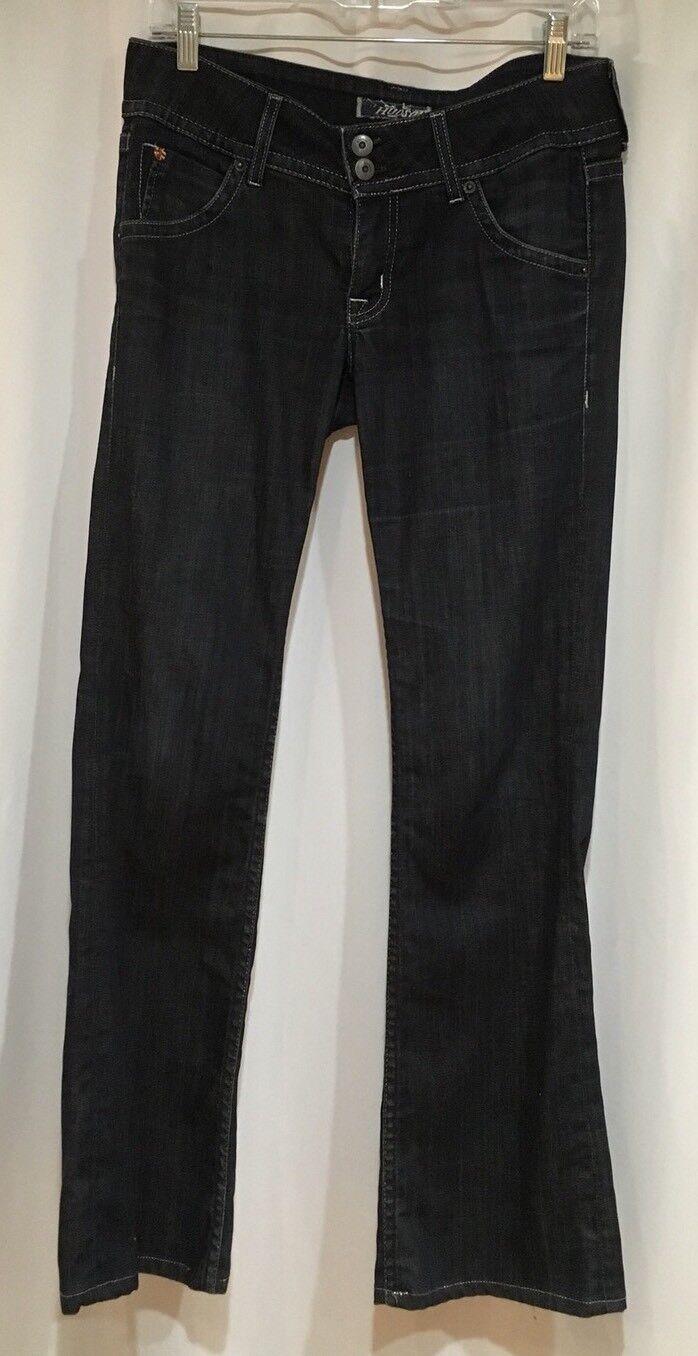 Hudson Dark Wash Low Rise Bootcut Woman's Jeans Size 28 X 31