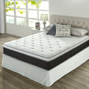 ZINUS NIGHT THERAPY 12 in Icoil Spring Mattress King Size ...