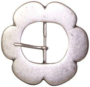fronhofer-Fibbia-Cintura-in-fiore-per-donne-argento-anticato-4CM-Cintura-17622