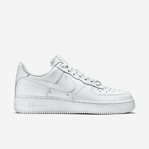 Details about 315115 112 Women's Nike Air Force 1 '07 Shoe!! WHITEWHITE!! 100% AUTHENTIC!!