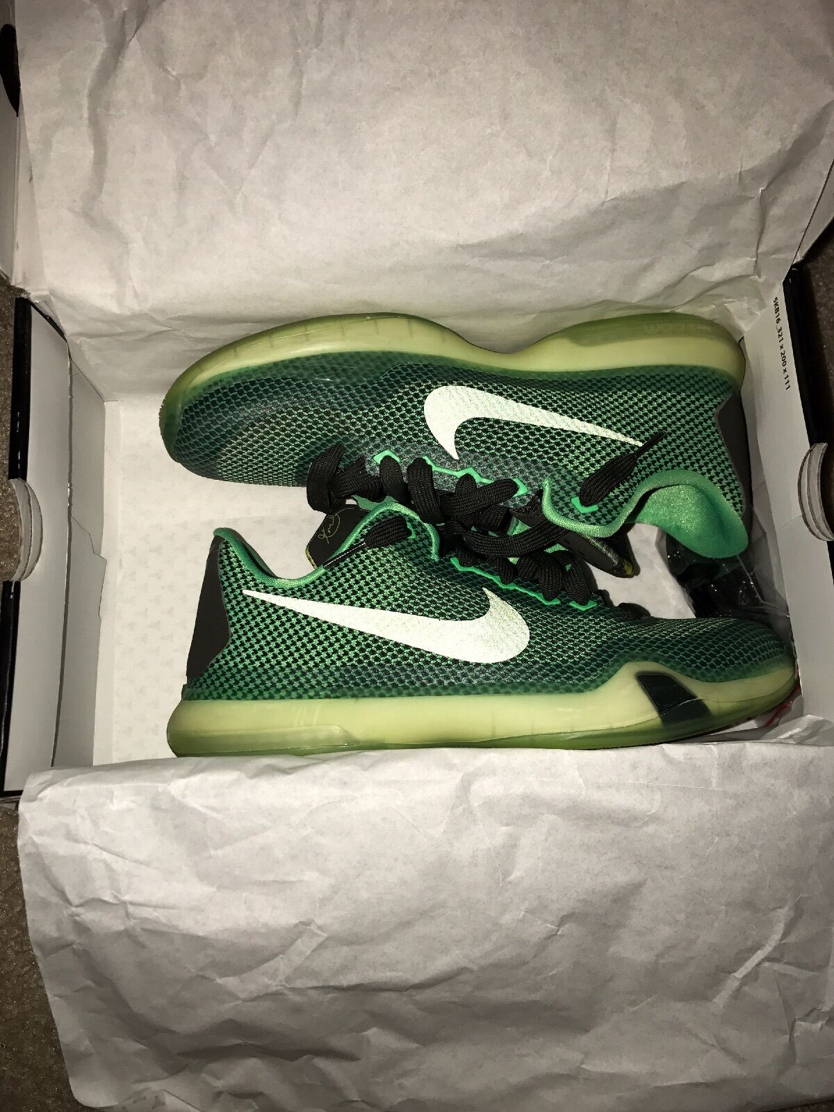 Kobe Green 10 Poison Green Kobe 33702e
