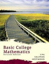 Basic college mathematics by lial 6th edition | ebay.