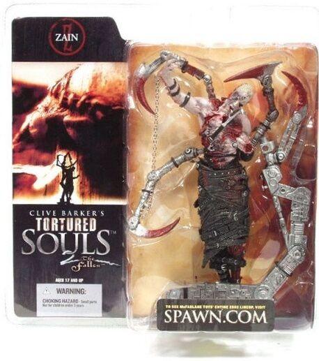 Clive Barker - Torturosso Souls 2 - Zain - Action Figure