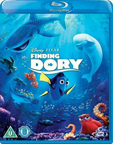 Finding Dory [Blu-ray] [2017] OFFICIAL DISNEY NEW Gift Idea