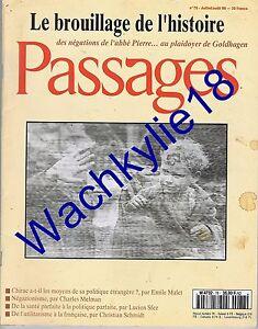 Passages-n-78-du-17-1996-Negationisme-Garaudy-Abbe-Pierre-Goldhagen-Topor