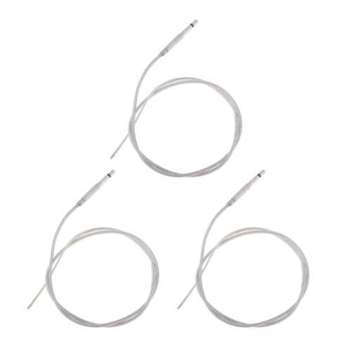 3 Stück Silver Under Saddle Transducer Piezo Tonabnehmerkabel für