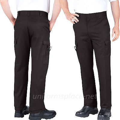 Dickies 211-2377 MD  Mens  EMS EMT Pants   Midnight Blue  Waist Size 28 to 52