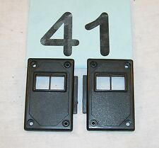 82-92 Camaro 82-86 Firebird Black Power Lock Switch Mounting Panels NICE  #41