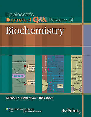 Lippincott's Illustrated Q&A Review of Biochemistry by Lieberman (Paperback book