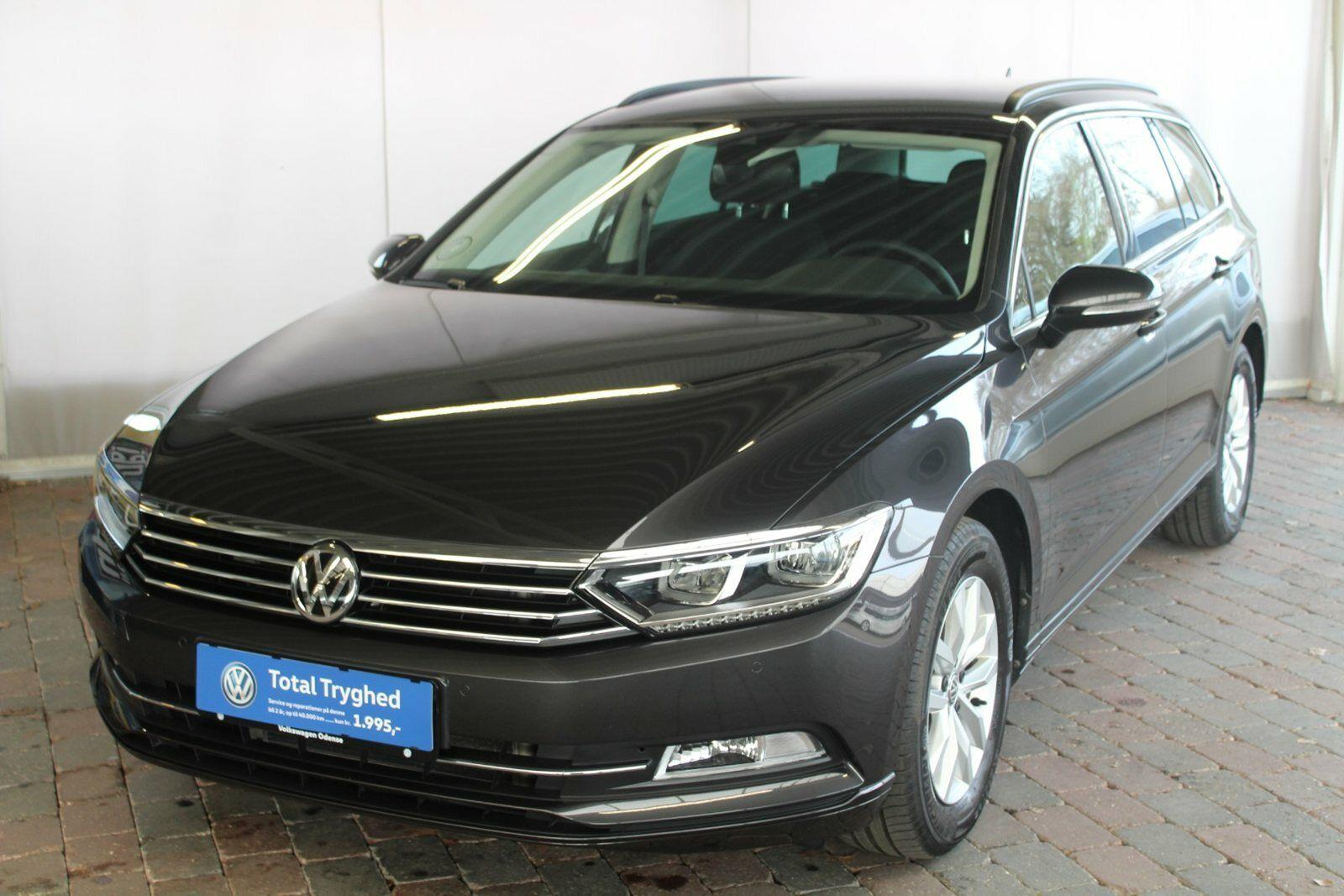 VW Passat 2,0 TDi 150 Comfort. Prem Vari DSG 5d - 369.900 kr.