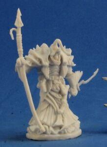 Reaper Miniatures EREGRIS DARKFATHOM HIGH SEA PRIEST Polymer BONES Plastic 77215