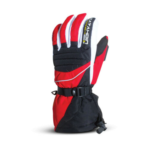 Katahdin Frostfire Snowmobile Gloves Red