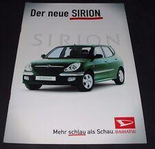 Auto Prospekt Katalog Daihatsu Cuore Typ M 100 / M100 Stand April 2002