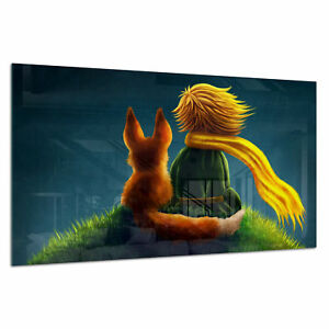 Tempered-Glass-Photo-Print-Wall-Art-Picture-Little-Prince-Boy-Fox-Prizma-GWA0353
