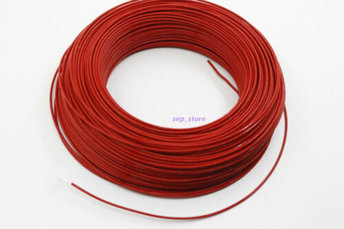 2M 18AWG 1㎡ high temperature Teflon silver wire power line inside cable