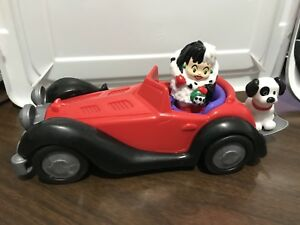 Fisher Price Little People Disney 101 Dalmatians Cruella De Vil Car