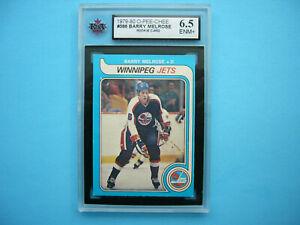 1979-80-O-PEE-CHEE-NHL-HOCKEY-CARD-386-BARRY-MELROSE-ROOKIE-KSA-6-5-EX-NM-OPC