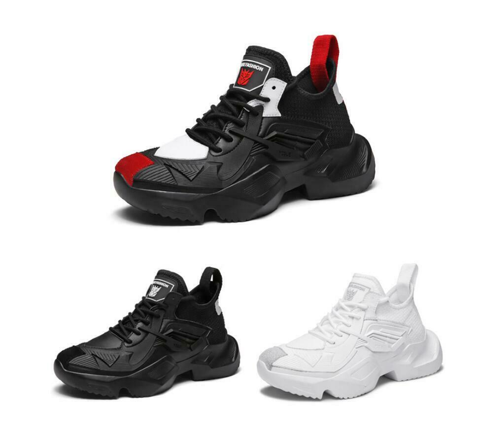 Para hombres Moda Zapatillas De Baloncesto Atléticas Zapatos Informales Correr Exterior Caminar