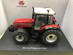 Universal-hobbies-1-32-Massey-Ferguson-8220-Xtra-DIECAST-MODEL-UH5331