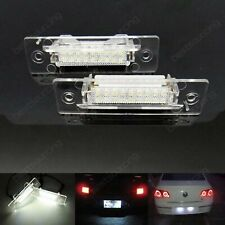 2x 6 LED NUMBER PLATE LIGHT CANBUS NO ERROR WHITE XENON PORSCHE BOXSTER 986 987