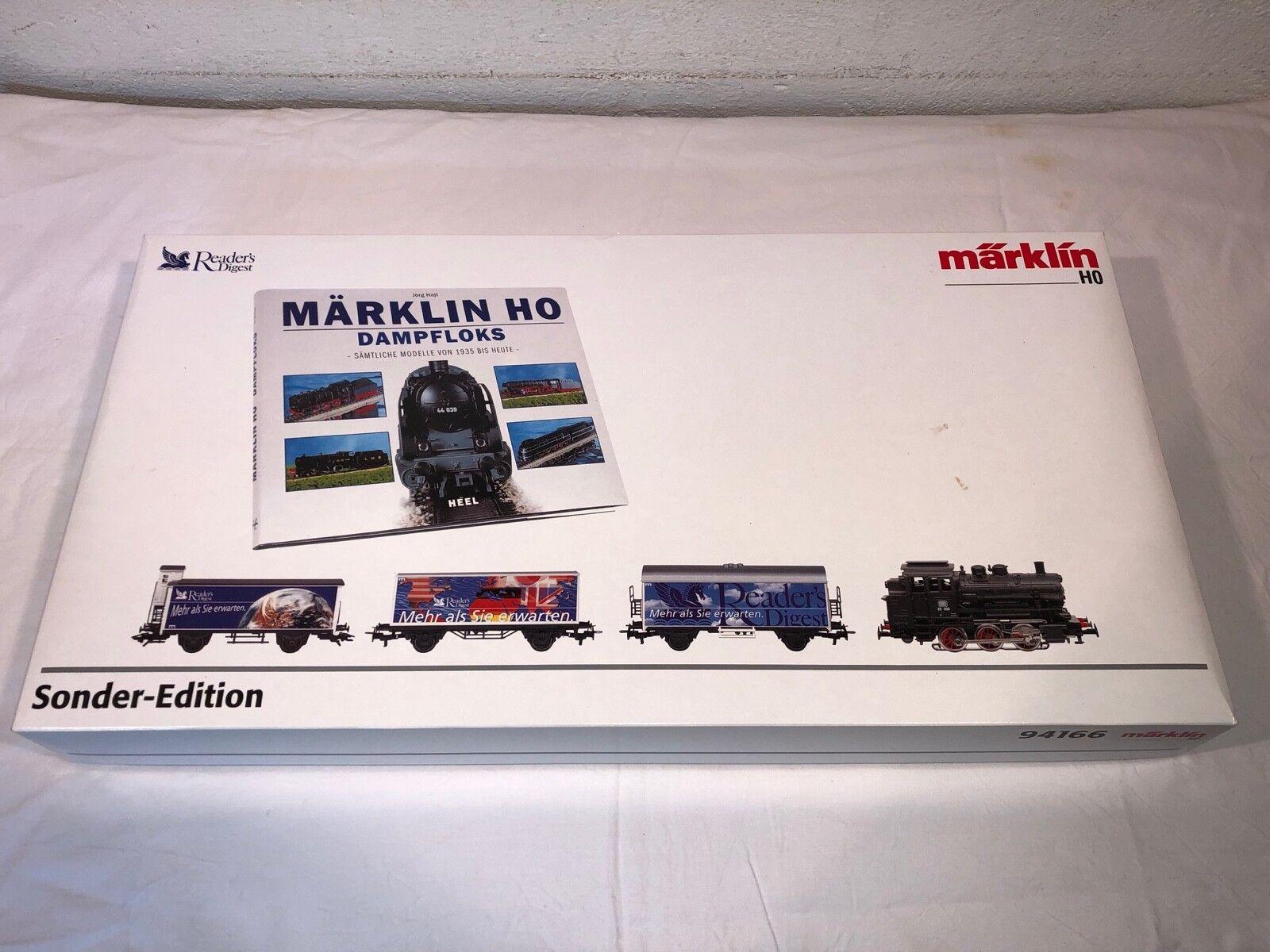 Märklin h0 ferrocarril 94166 especial Edition Readers Digest aprox. V. 2003
