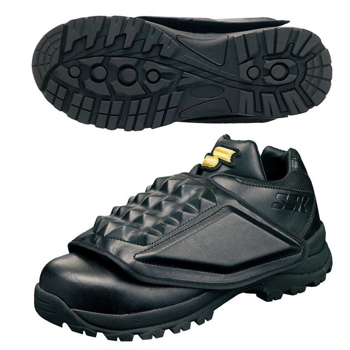 SSK Japón béisbol árbitro Zapatos Pro Modelo Boa SSF8000 Negro