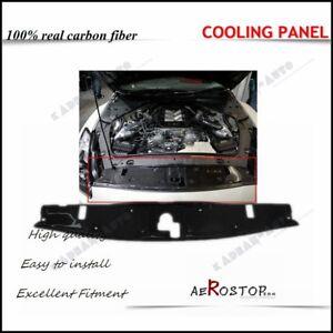 CARBON-FIBER-OE-STYLE-COOLING-PANEL-PLATE-RADIATOR-FOR-NISSAN-SKYLINE-R35-GTR