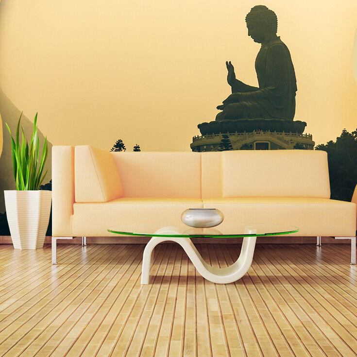 Fototapete Vlies Buddha -Tapete Tapeten Fototapeten Fürs Wohnzimmer FDB87