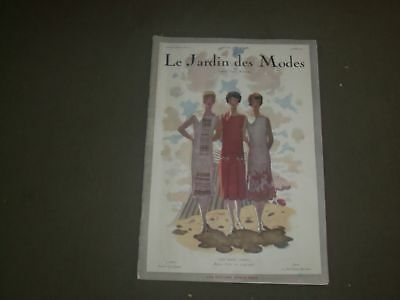 1925 JULY 15 LE JARDIN DES MODES MAGAZINE - LES TROIS AMIES - FRENCH  TEXT-FR 147 | eBay